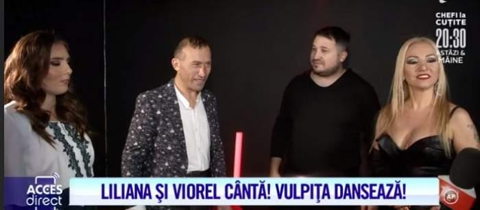 Veronica, Viorel Stegaru și Liliana Moise, interviu la Antena 1