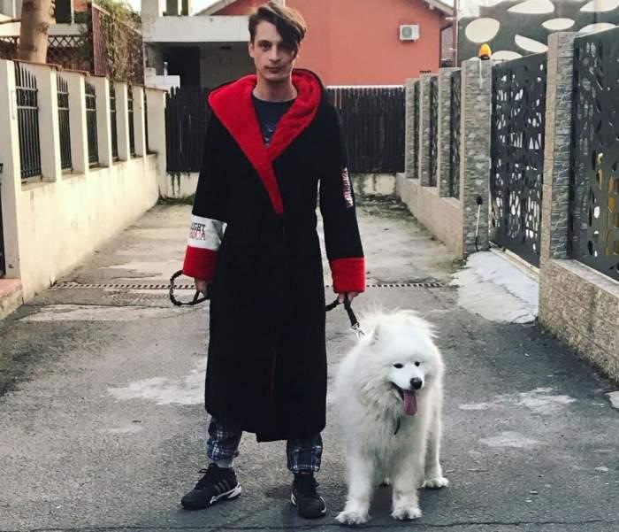 RObert Sfăt și câinele familiei