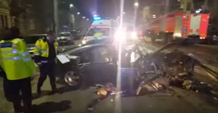 Accident mortal în Cluj-Napoca! După ce a luat viaţa unui tânăr, şoferul a fugit de la locul tragediei  VIDEO
