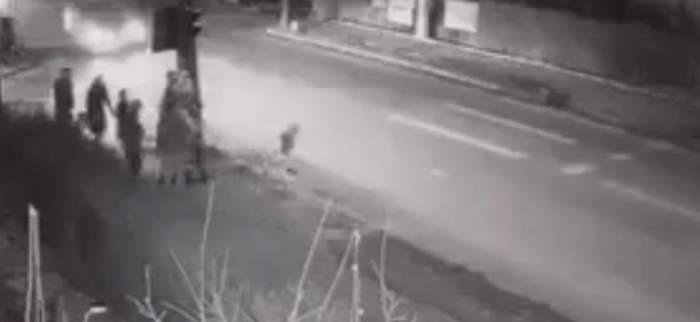 Tragedie pe o şosea din Suceava! Un copil a fost spulberat pe trecerea de pietoni VIDEO
