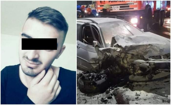 Filip a murit în mașina tatălui, după ce un șofer beat l-a spulberat. Avea doar 22 de ani