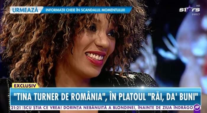 """VIDEO / Tina Turner de România, mai sinceră ca niciodată! """"Am suflet de moldoveancă"""""""