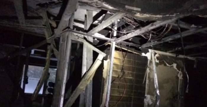 Incendiu de proporţii la un hotel din Păltiniş. Peste 100 de persoane au fost evacuate