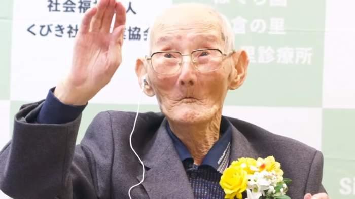 Câți ani are cel mai bătrân om din lume. A intrat în Cartea Recordurilor