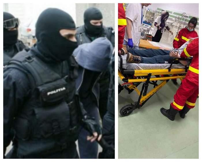 Mascaţii din Braşov au greşit adresa şi au băgat în spital doi copii speriaţi