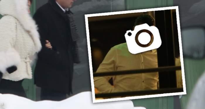 VIDEO PAPARAZZI / Ce se mai respectă. Politician celebru, prins cu mândruţa la restaurant. Cum o răsfaţă fostul consilier din Guvernul Dăncilă pe domniţa de lângă el
