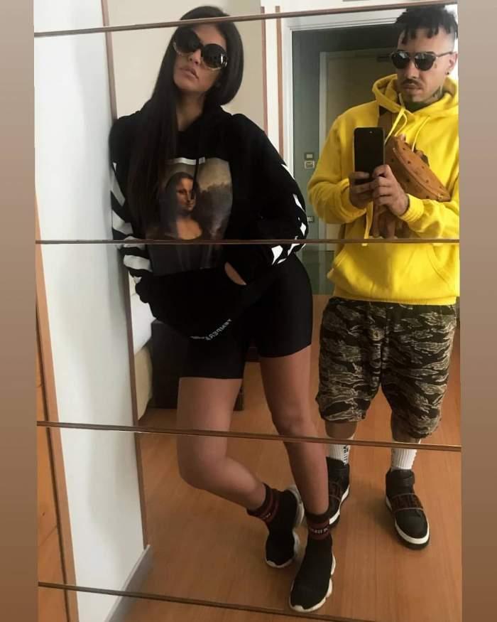 """VIDEO / Alex Velea a compus o manea îndrăzneaţă pentru Antonia! """"Îți iau haine de designer, dar te vreau în tanga"""""""