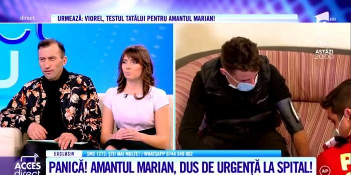 Vulpiţa, deloc impresionată de suferinţa amantului Marian. Veronica râde de el, după ce a fost luat cu ambulanţa de la ''Acces Direct''