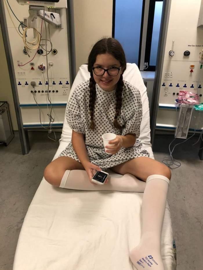 Tragedia unei fete de 14 ani. A fost răpusă de cancer la creier, la doar câteva săptămâni după ce a strâns bani pentru tratament