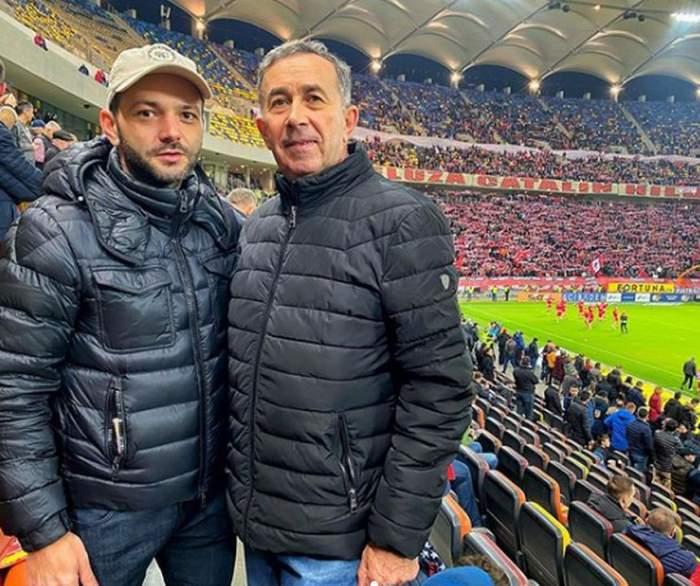 Mihai Morar, alături de tatăl său pe stadion. Detaliul observat de fani! Imediat l-au felicitat