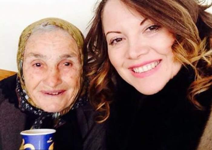 """Oana Lis, gest emoţionant pentru bunica ei: """"Roata vieții se întoarce"""""""