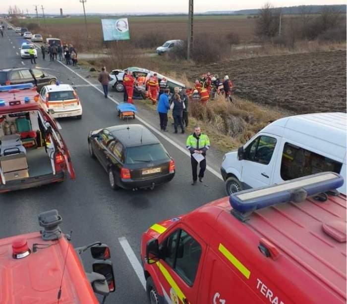 Accident grav în Satu-Mare! A fost activat Planul Roşu de Intervenţie