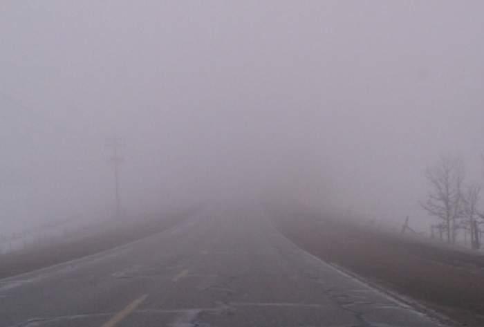 ANM, anunț de ultimă oră. Cod galben de ceață pentru mai multe zone din țară