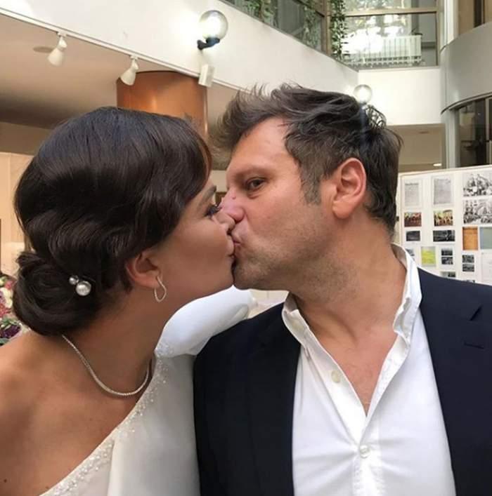 Nuntă mare în showbiz. Alina Pușcaș se căsătorește religios cu tatăl celor trei copii ai săi, Mihai Stoenescu. Când va avea loc evenimentul