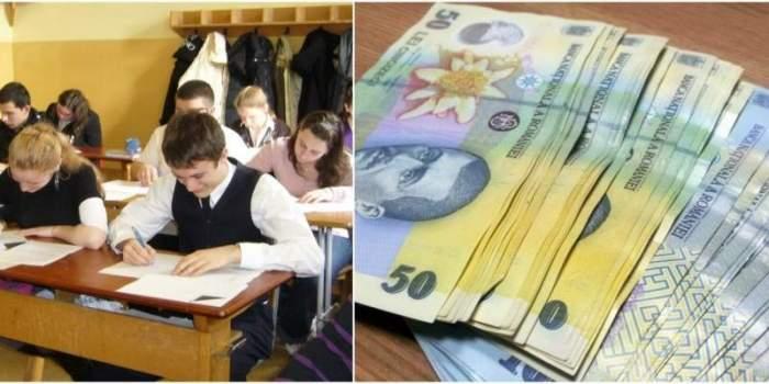 Statul le dă 200 de euro elevilor! Ce condiții trebuie să întrunească