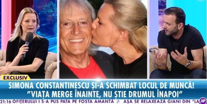 VIDEO / Simona Constantinescu şi-a schimbat locul de muncă. Cum încearcă să treacă peste pierderea soţului
