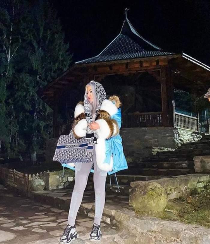 Loredana Chivu, din nou criticată pentru cum s-a dus la mormântul lui Arsenie Boca! Aşa s-a afişat fosta asistentă TV / FOTO