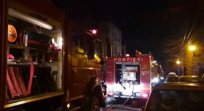 Ultimă oră! Incendiu de proporţii în Capitală! Echipajele de salvare au intervenit de urgenţă  / VIDEO