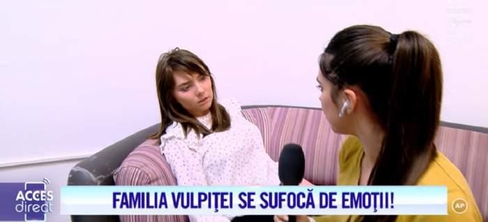 """VIDEO / Veronica, copleşită de emoţii în aşteptarea testului de paternitate: """"Mă simt rău tare..."""". Ce mesaj are Vulpiţa pentru amantul Marian"""