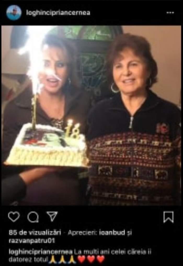 Cum și-a petrecut ziua de naştere celebra Irina Loghin. Mesajul emoţionant al fiului / FOTO