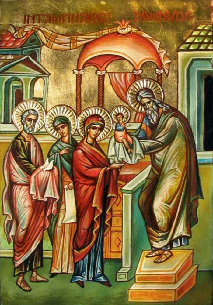 Calendar ortodox, duminică, 2 februarie. Rugăciunea extrem de puternică pe care este bine să o spui de Întâmpinarea Domnului!