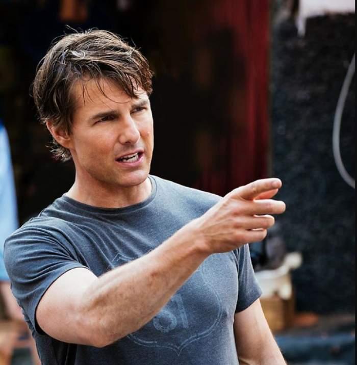FOTO / Tom Cruise, de nerecunoscut din cauza operaţiilor estetice. Actorul şi-a schimbat complet înfăţişarea