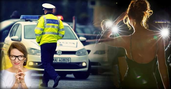 Cântăreaţa mincinoasă, încă un scandal cu poliţia / Ce le-a pregătit agenţilor care au amendat-o!