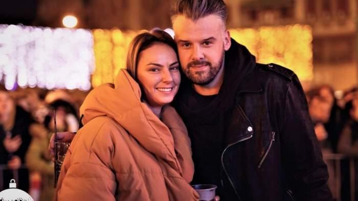 Roxana Ionescu și Tinu Vidaicu s-au căsătorit civil, în mare secret / VIDEO
