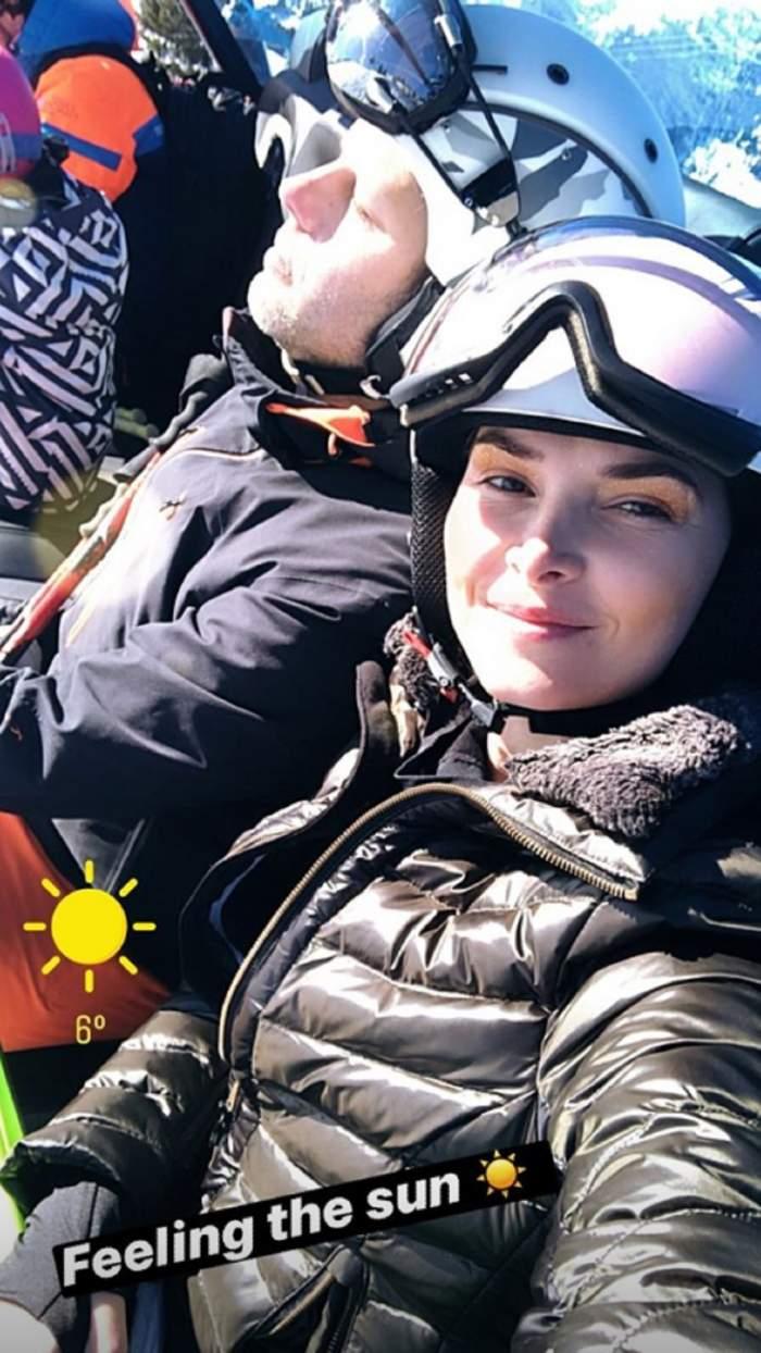 Alina Puşcaş şi soţul, vacanţă de vis în inima Alpilor francezi! Câţi bani au scos din buzunar pentru o noapte la hotel