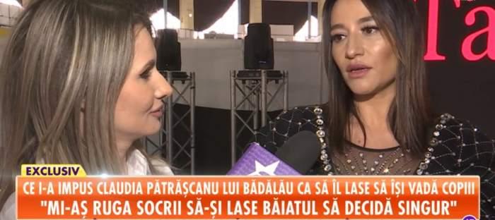 """Claudia Pătrăscanu, declaraţii de ultim moment despre divorţul de Gabi Bădălău: """"I-aş ruga pe bunici să-l lase să decidă singur"""""""