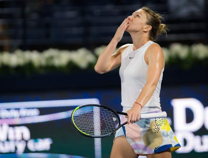 """Simona Halep a câștigat finala de la Dubai! Prima reacție a sportivei: """"Sunt aproape moartă"""""""