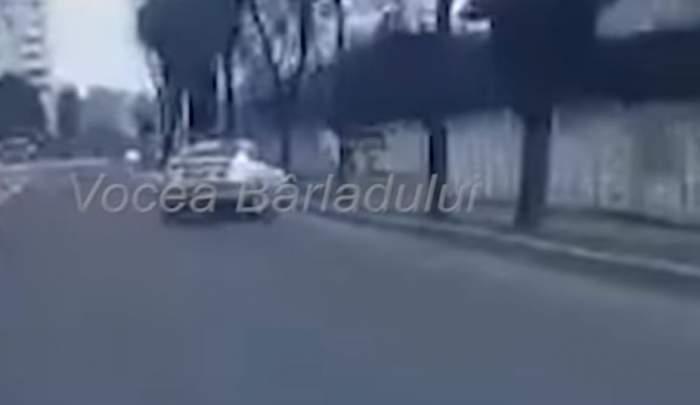VIDEO /  Momentul producerii accidentului mortal din Bârlad. Maşina a fost distrusă la peste 160 de kilometri pe oră