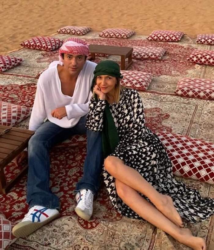 O duc bine de tot! Câţi bani au scos Adela Popescu şi Radu Vâlcan pentru o noapte la hotel, în Dubai / VIDEO