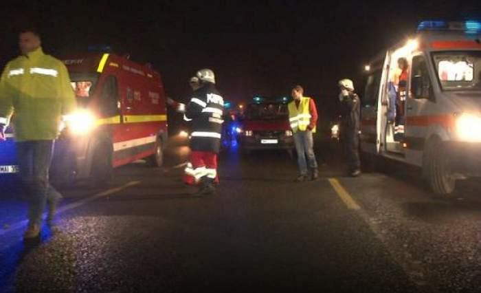 Accident teribil în Giurgiu. Un şofer băut a fost la un pas să-şi omoare patru prieteni
