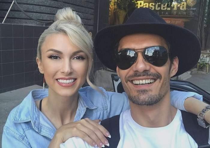 """Prima reacţie a Andreei Bălan după ce soţul ei a fost prins sub influenţa drogurilor: """"Lasă să doară"""""""