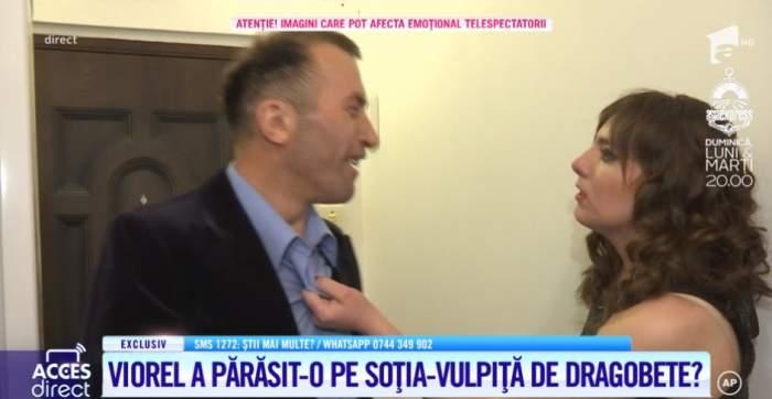 Veronica și Viorel, scandal crunt de Dragobete! Vulpița a sărit la gâtul soțului, într-o criză de gelozie