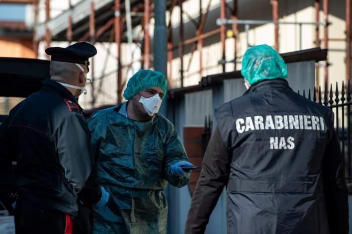 O româncă a fost prinsă la furat, în Italia, dar polițiștii au eliberat-o pentru că se temeau că avea coronavirus