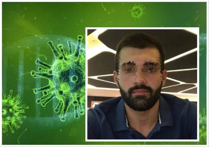 El este tânărul din Gorj infectat cu coronavirus. Sergiu a fost izolat la domiciliu timp de două zile