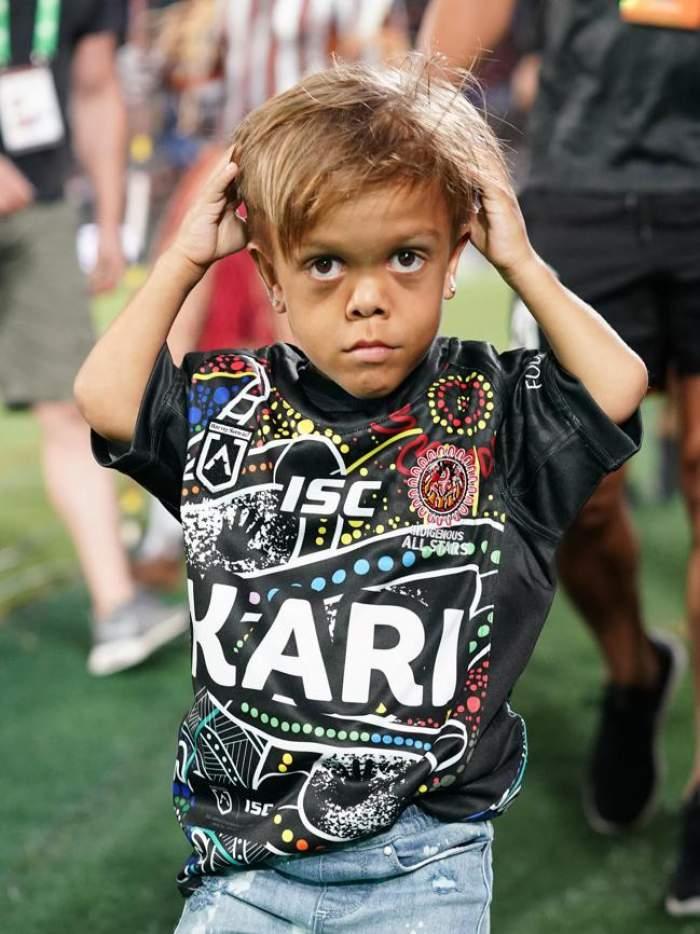 Emoţionant! Un copil cu nanism din România i-a transmis un mesaj de încurajare lui Quaden, băiatul din Australia agresat de colegi