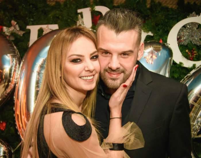 FOTO / Singurele imagini de la nunta Roxanei Ionescu și a soțului său. Abia acum au fost făcute publice
