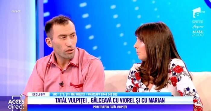 Tatăl Vulpiţei, acuzaţii grave la adresa lui Viorel. ''I-a luat banii fetei''. Socrul, de partea lui Marian
