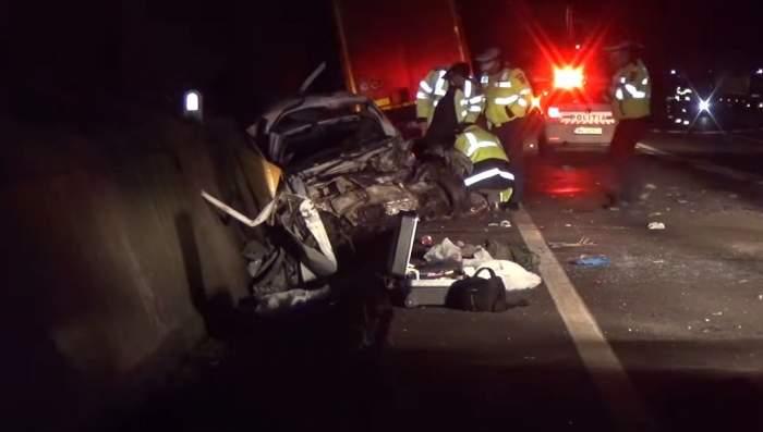 Accident teribil în Balş! Patru tineri au murit striviţi de o maşină / Video