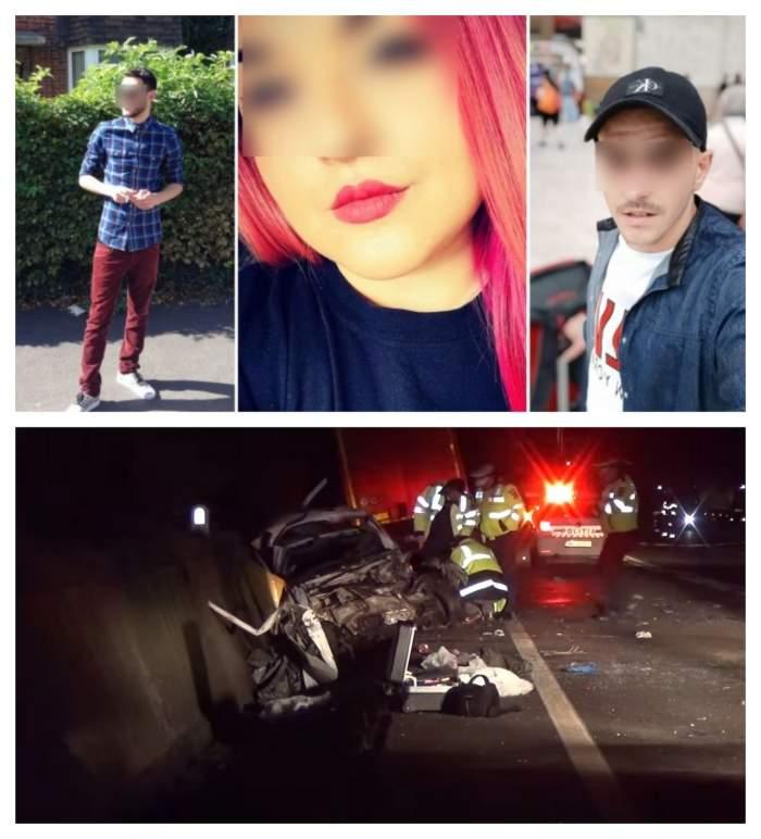 Tinerii care au murit în accidentul din Balş. Unul dintre ei nu avea voie să părăsească oraşul de domiciliu
