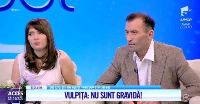 Viorel şi Veronica au minţit. ''Nu sunt însărcinată''. Mirela Vaida s-a enervat şi a răbufnit. ''Voi credeţi că în viaţa vă jucaţi?'' / VIDEO