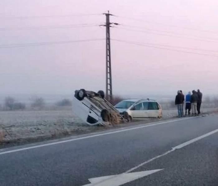 Accident cumplit în Bihor! Un tânăr a murit, iar alte şase persoane au fost rănite