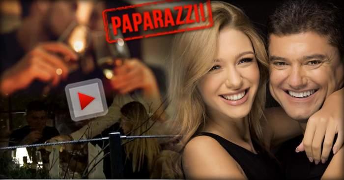 VIDEO PAPARAZZI / Cristian Boureanu, cină romantică cu Laura Dincă, la restaurant. Cum au fost surprinşi cei doi îndrăgostiţi, când credeau că nu-i vede nimeni