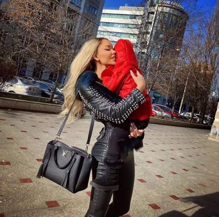 Bianca Drăgușanu și-a găsit ''nașul''. Vedeta, în conflict cu fiica ei în vârstă de 3 ani. ''M-am supărat pe ea''