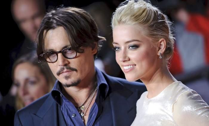 """Înregistrare șocantă făcută publică, între Johnny Depp și Amber Heard: """"Nu ți-am dat un pumn, doar te-am lovit"""""""