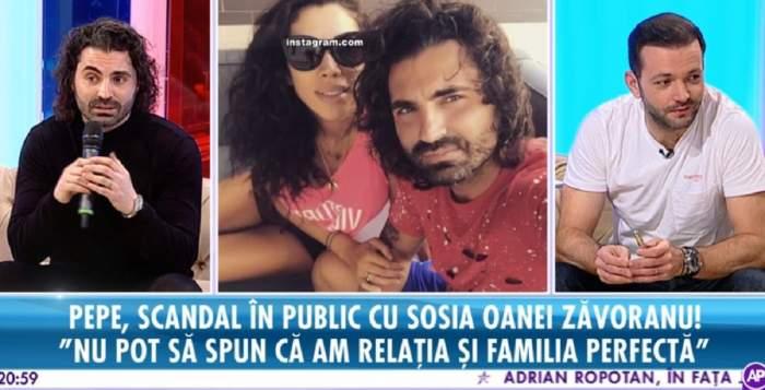 """VIDEO / Pepe, despre """"scandalul"""" cu sosia Oanei Zăvoranu. """"Nu pot să spun că am relaţia perfectă"""""""