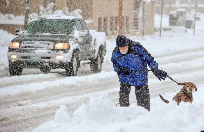 ANM avertizează: -20 de grade și ninge în toată țara! Când vine iarna adevărată